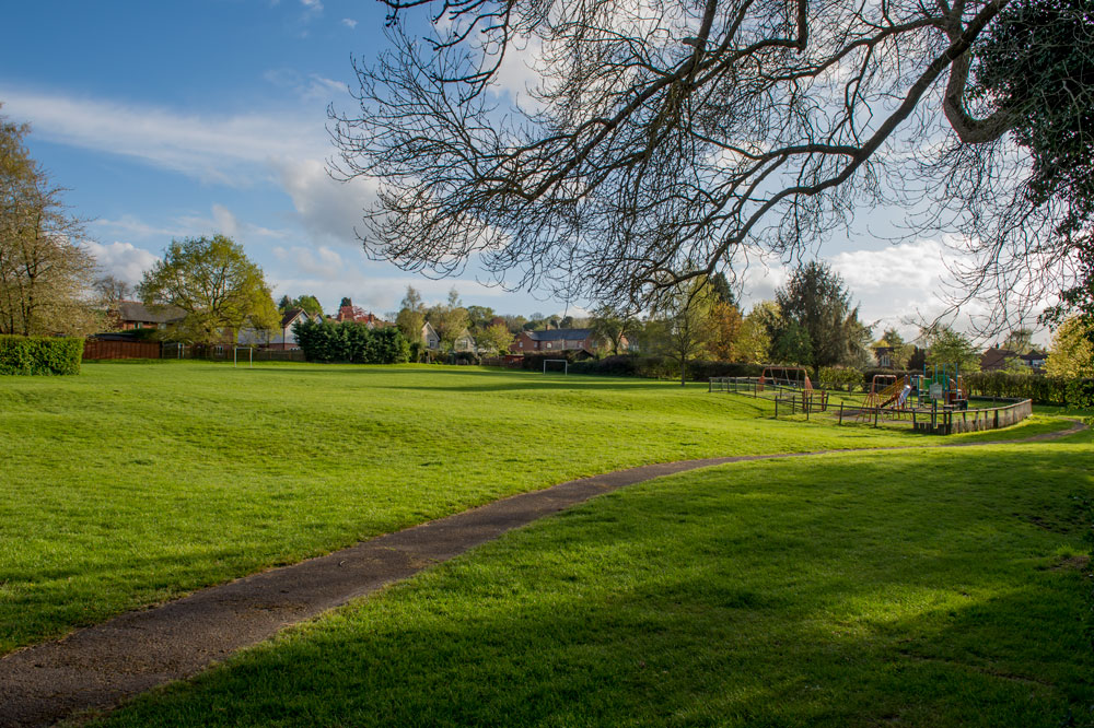 Manton Jubilee Field - current play area over to the right