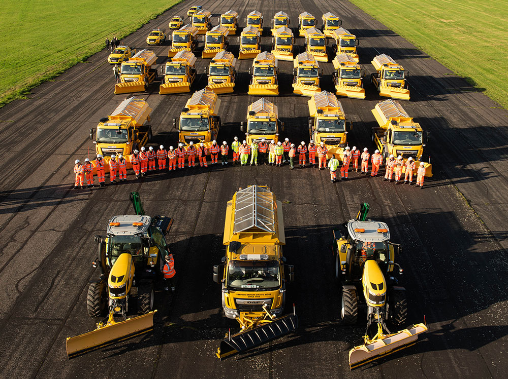 Wiltshire's team of new (named) gritters