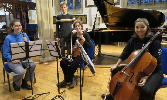 Timon Staehler & friends - before the afternoon rehearsal