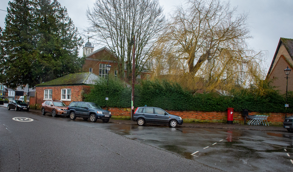 Parking spaces in The Parade likely to go when the St Peter's development takes place