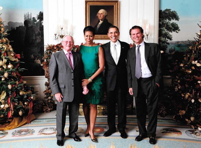 Brian Ashley, First Lady Michelle Obama, President Obama, Charles Ommanney