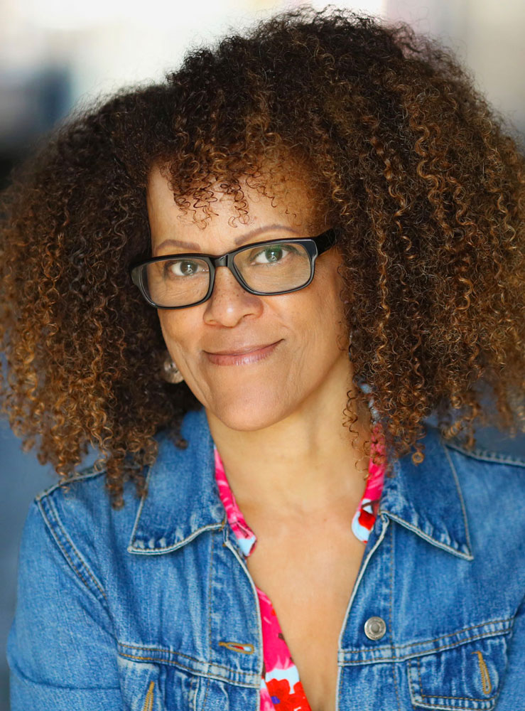 Bernardine Evaristo, Booker Prize winner last year and Golding Speaker at this year's LitFest  -  Pic: Jennie Scott
