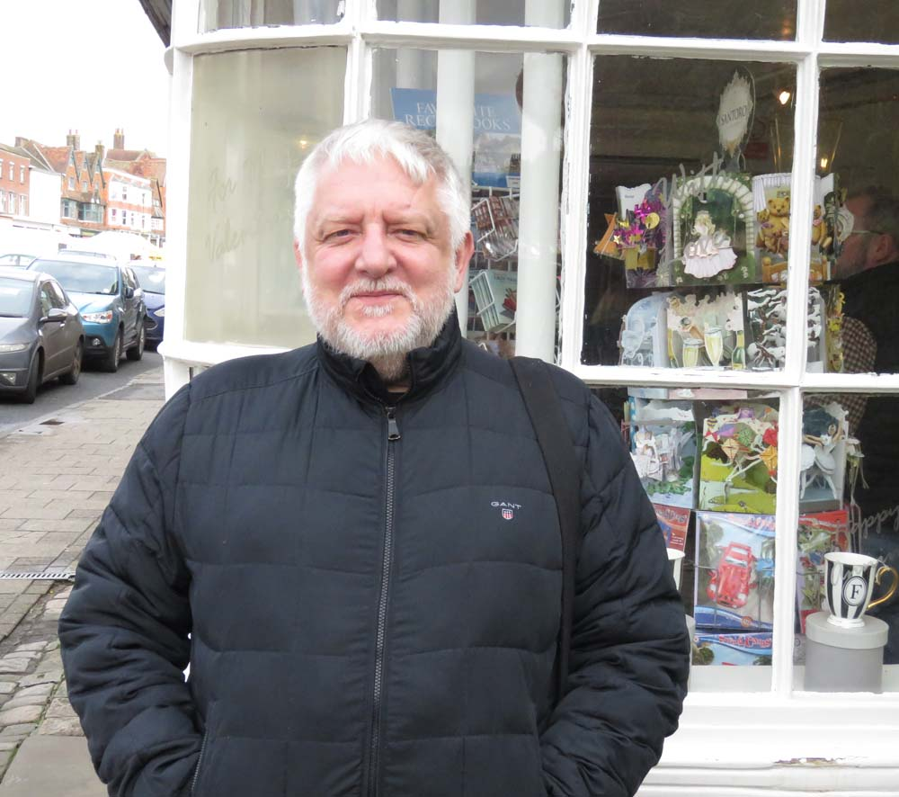 Sir Simon Russell Beale - on a wet & windy February Marlborough day