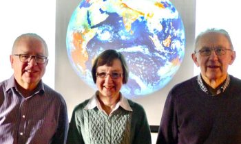 l to r - U3A Climate Change Panel: Randal Richards, Jill Turner and Graham Barnes