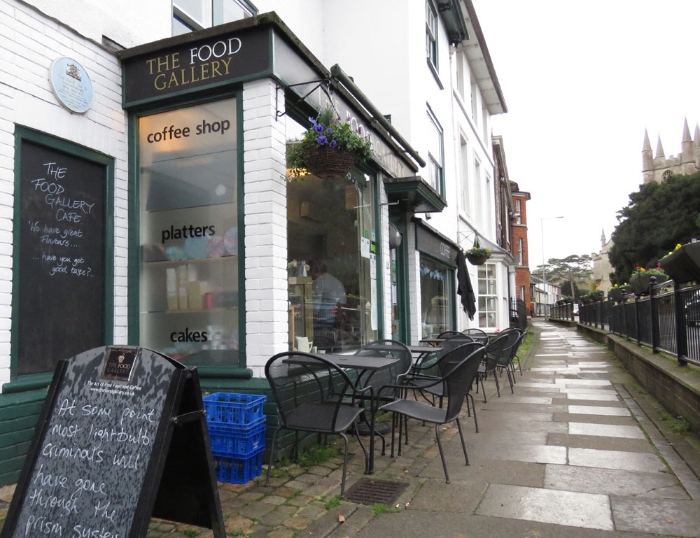 The Food Gallery on the High Street