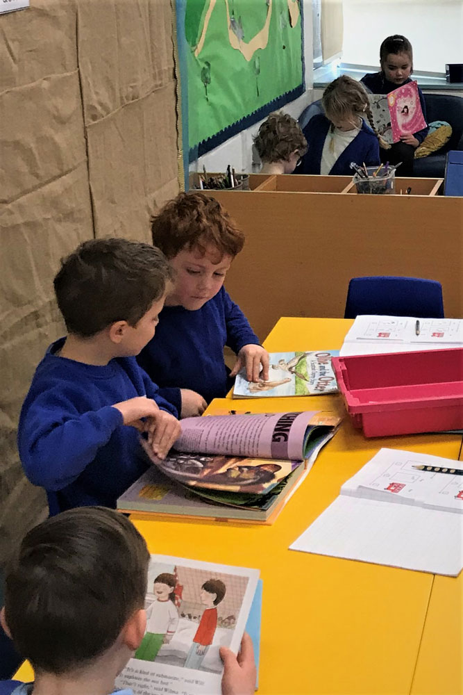 Ramsbury pupils share their favourite books