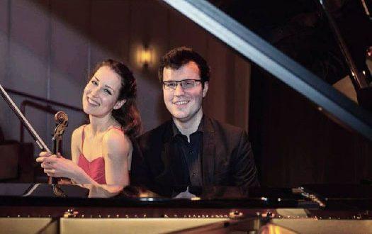 Johanna Rohrig (violin) and Cameron Richardson-Eames (piano)