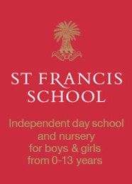 St Francis School advertisement