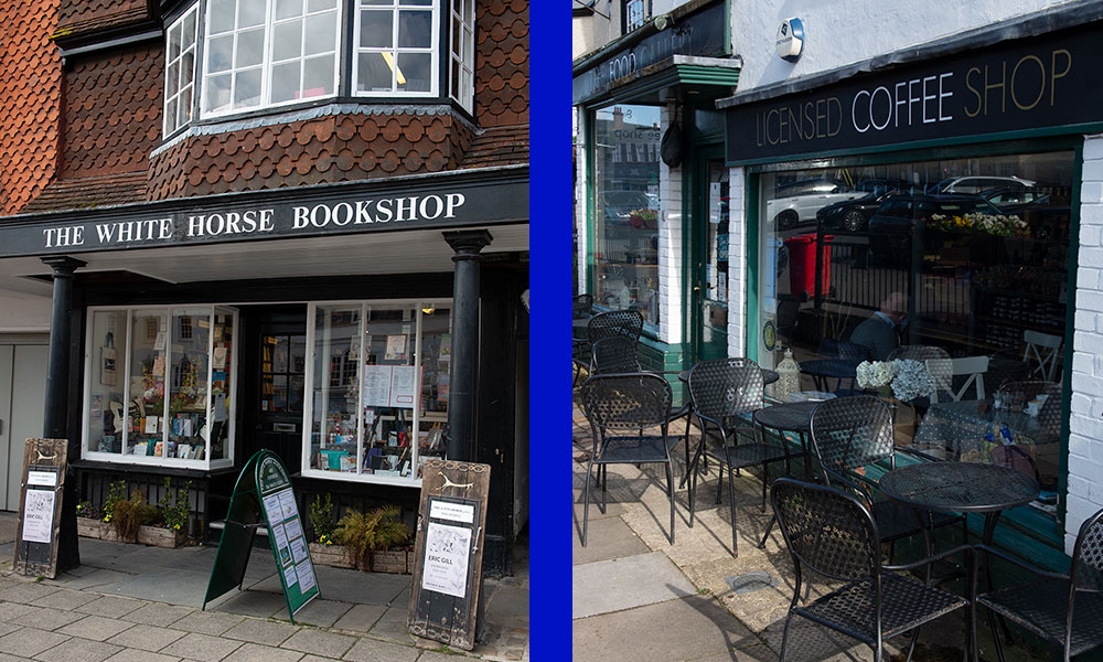 03-22_The White Horse Bookshop and The Food Gallery - closing due to Coronavirus crisis