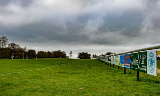 Empty Rugby Pitch