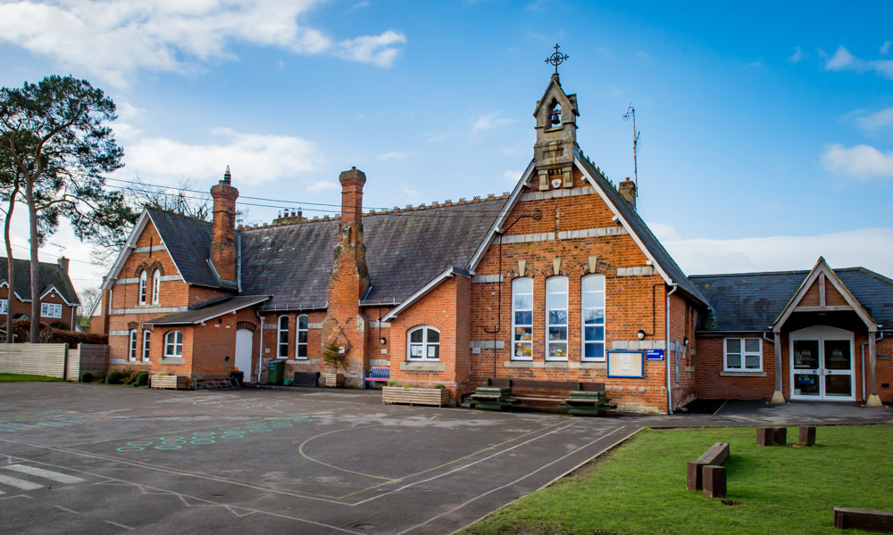 Kennet Valley School, at the heart of the Fyfield and West Overton parish in Lockeridge