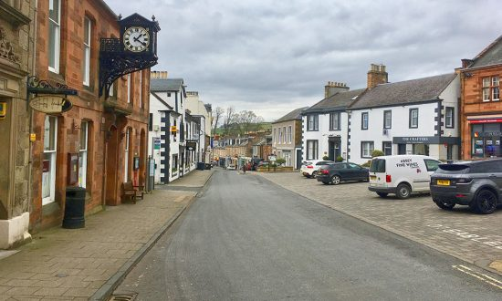 Quiet Town Centre