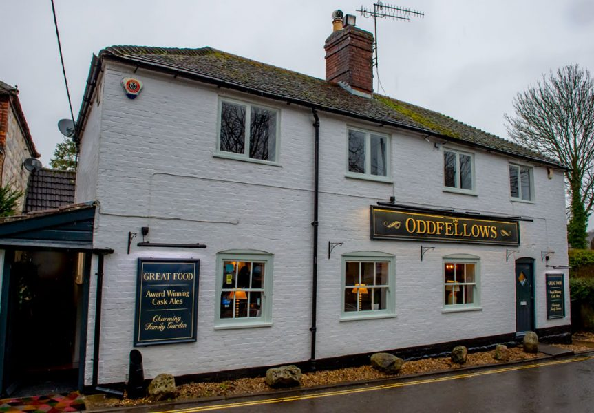 In the heart of Manton, the recently re-opened Oddfellows