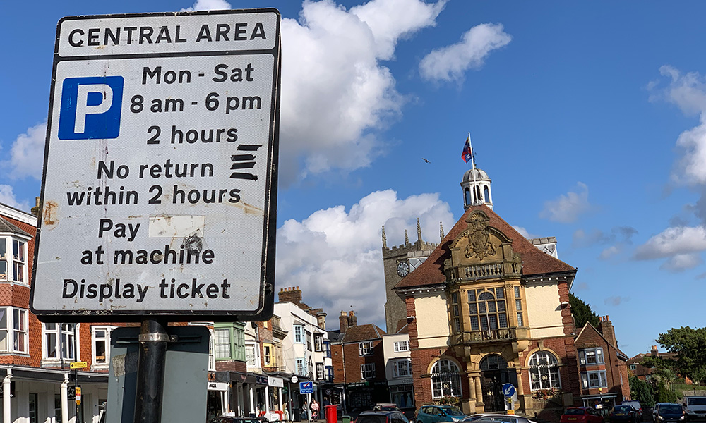Marlborough-parking-sign