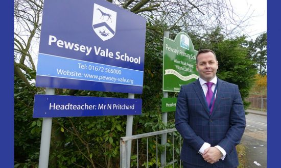 Neil Pritchard, Headteacher at Pewsey Vale School
