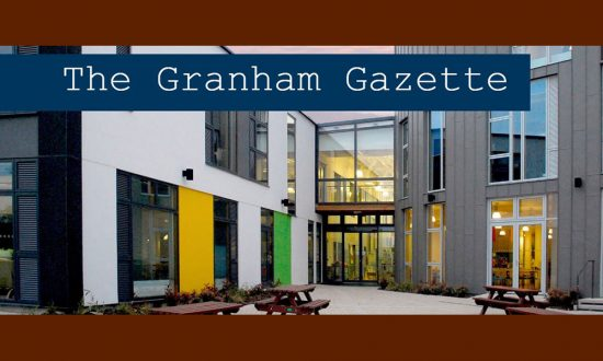 St John's academy - Front Page of The Granham Gazette