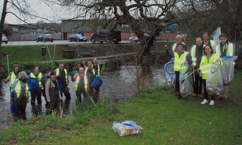 Great British Clean - cleaning up Marlborough in 2019