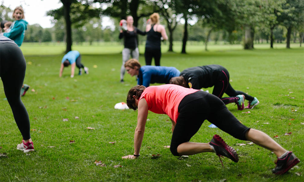 BootCamp fitness on The Common, pic (and sessions) courtesy of Marlborough Rugby Club