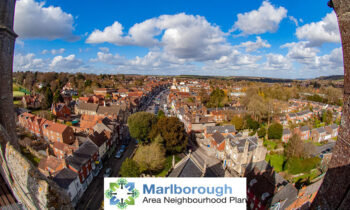 Marlborough from St Peter's Tower