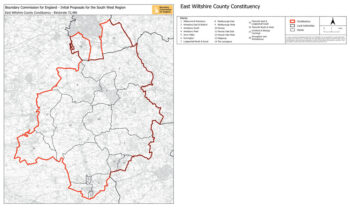 East Wilts constituency (proposed)