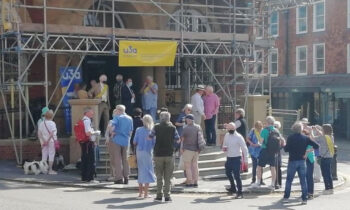 Launching the u3a Day at the Town Hall