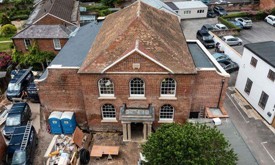 Marlborough's new Parade Cinema from the air