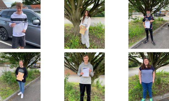 Top row: Callum D; Maddie F; Jake C: / Lower row: Chloe B; Oliver M; Mollie Anne B