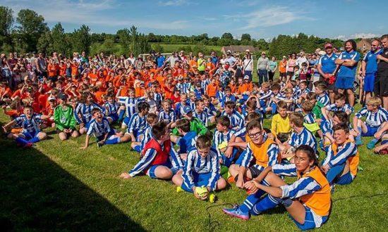 Many of the MarlboroughYouth Football Club's 450+ players
