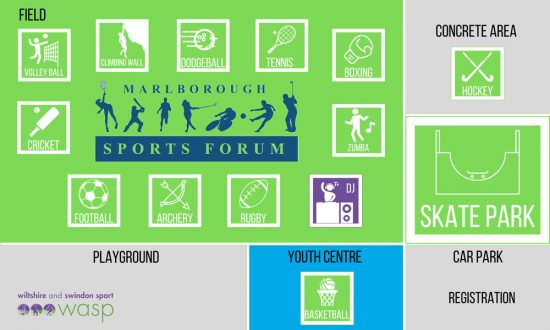 Marlborough-Sports-Festival-Map