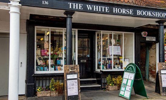 White Horse Bookshop exterior - Landscape